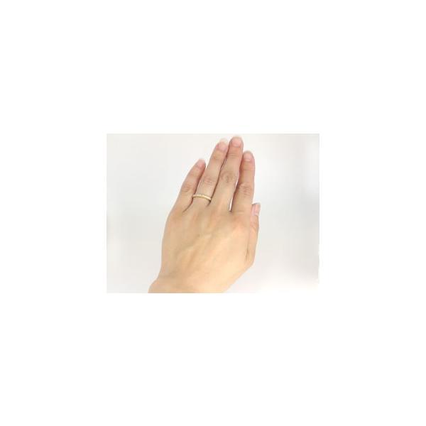 ピンキーリング ダイヤモンド エタニティ リング エンゲージリング 婚約指輪 エタニティリング 指輪 イエローゴールドk18 K18 ダイヤ 0.20ct 18金 リング