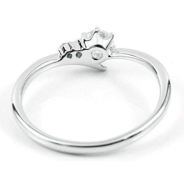 ピンキーリング 鑑定書付き VVS1クラス プラチナ900 ダイヤモンド 婚約指輪 エンゲージリング リング 一粒 大粒 ダイヤ ストレート ピンクダイヤモンド