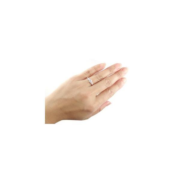 エンゲージリング プラチナ ダイヤモンド 鑑定書付き 婚約指輪 一粒 大粒 VSクラス ダイヤ リング リング ストレート クリスマス 女性