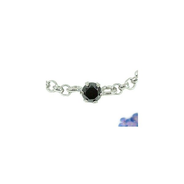 ペアアンクレット アクアマリン ブラックダイヤモンド スリーストーン プラチナ 3月誕生石 チェーン レディース ダイヤ カップル 宝石