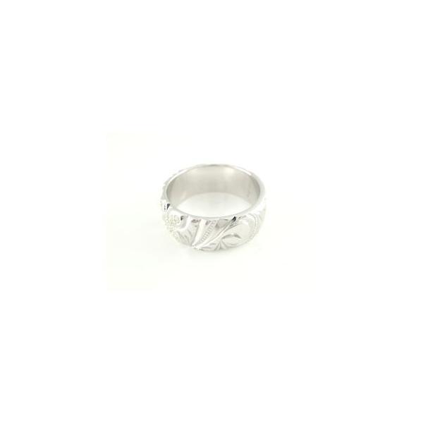 結婚指輪 ペアリング プラチナ ダイヤ ダイヤモンド刻印 マリッジリング ミル打ち ハワイアンジュエリー 幅広 結婚式 ストレート カップル メンズ レディース