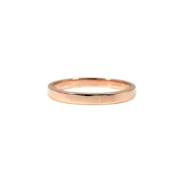 結婚指輪 ペアリング マリッジリング ダイヤモンド ハーフエタニティ ピンクゴールドk18 2本セット 結婚式 18金 ダイヤ ストレート カップル クリスマス 女性