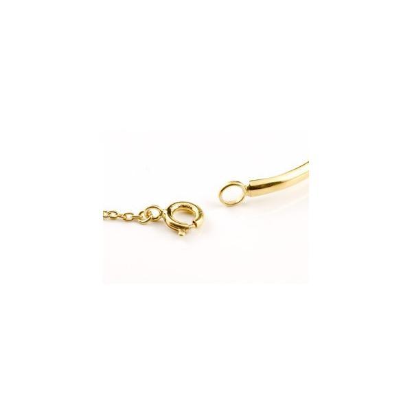 ブレスレット タンザナイト 一粒 イエローゴールドk18 18金 シンプル レディース 12月誕生石 宝石 送料無料