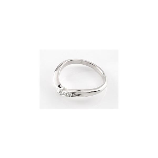 婚約指輪 エンゲージリング ダイヤモンド ホワイトゴールドk18 18金 ダイヤモンドリング ダイヤ ストレート スリーストーン クリスマス 女性