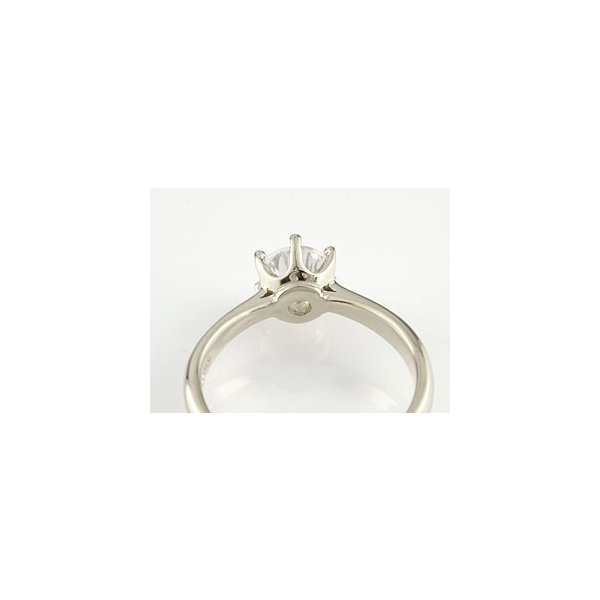エンゲージリング プラチナ ダイヤモンド 婚約指輪 ソリティア 一粒 大粒 リング ダイヤ ストレート クリスマス 女性