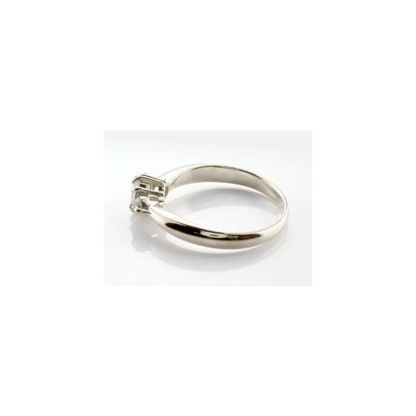 ピンキーリング 鑑定書付 ダイヤモンド リング ペリドット 指輪 大粒 ダイヤ ホワイトゴールドK18 18金 ダイヤモンドリング ダイヤ ストレート 宝石