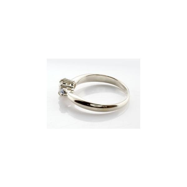 ピンキーリング 鑑定書付 ダイヤモンド リング タンザナイト 指輪 大粒 ダイヤ ホワイトゴールドK18 18金 ダイヤモンドリング ダイヤ ストレート 宝石