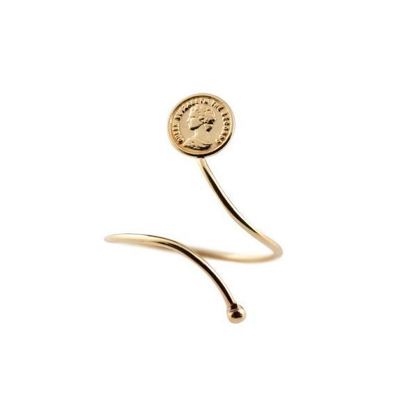 メンズリング ファランジリング コイン ピンクゴールドk18 ミディリング 関節リング 指輪 地金リング ピンキーリング 18金 フリーサイズ ストレート 送料無料