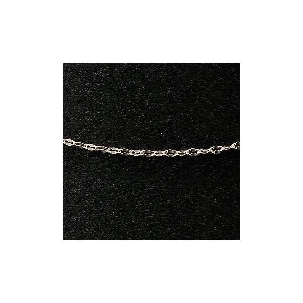 ロングプラチナ ネックレス チェーン ペダルチェーン 鎖 レディース 90cm pt850 地金ネックレス