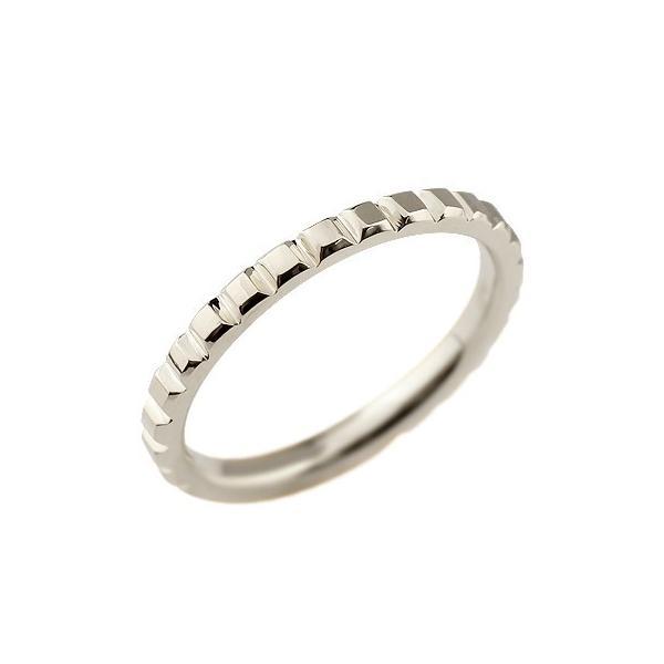 メンズ プラチナリング 指輪 ピンキーリング 地金リング カットリング シンプル 宝石なし pt900ストレート 男性用 送料無料