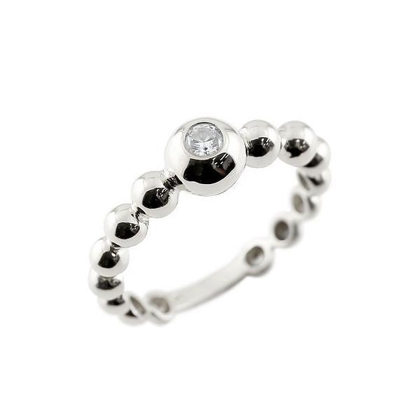 婚約指輪 エンゲージリング ダイヤモンド ハードプラチナ950 指輪 丸玉 ボールリング ダイヤ ダイヤモンドリング 一粒 pt950 レディース ストレート