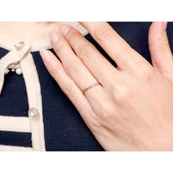 ペアリング 結婚指輪 マリッジリング ダイヤモンド ピンクゴールドk18 ホワイトゴールドk18 一粒 18金 華奢 ストレート スイートペアリィー クリスマス 女性