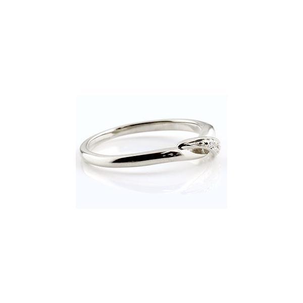 ピンキーリング エンゲージリング 婚約指輪 ダイヤモンド ハードプラチナ950リング ダイヤ pt950 ストレート 指輪 クリスマス 女性