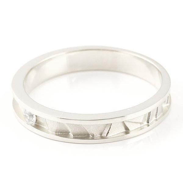 ブラックダイヤモンド ダイヤモンドホワイトゴールドk18 マリッジリング 結婚指輪 ペアリング ストレート カップル 18金 ダイヤ メンズ レディース Xmas