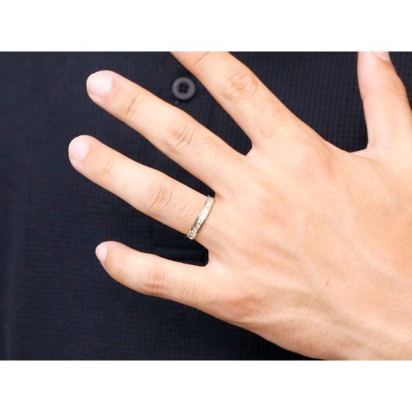 ダイヤモンド ホワイトゴールドk18 ピンクゴールドk18 マリッジリング 結婚指輪 ペアリング ストレート カップル k18 ダイヤ メンズ レディース
