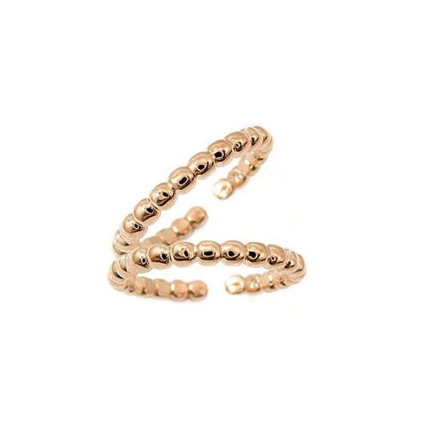 スイートハグリング ペアリング 結婚指輪 マリッジリング ピンクゴールドk18 フリーサイズリング 指輪 ハンドメイド 結婚式 18金 ストレート カップル  女性