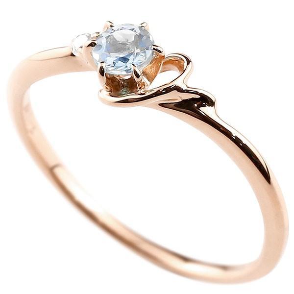 エンゲージリング イニシャル ネーム Y 婚約指輪 ブルームーンストーン ダイヤモンド ピンクゴールドk10 指輪 アルファベット 10金 レディース 6月誕生石