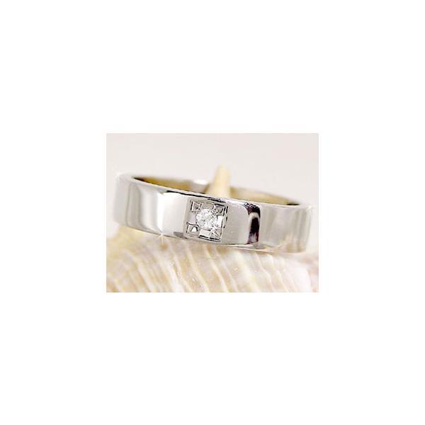 結婚指輪 ペアリング プラチナ ダイヤ ダイヤモンド マリッジリング 指輪 結婚式 ストレート カップル メンズ レディース クリスマス 女性