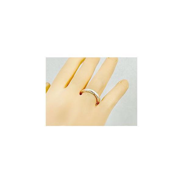 ハワイアン ペアリング 人気 結婚指輪 シルバー 地金リング sv925 ストレート カップル クリスマス 女性