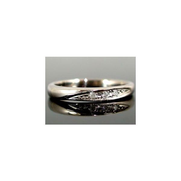 結婚指輪 マリッジリング ペアリング ダイヤモンド ブルー ホワイトゴールドk10 指輪 リングk10 10金 ダイヤ ストレート カップル クリスマス 女性