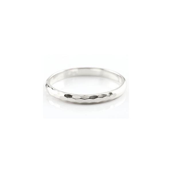 マリッジリング ペアリング 結婚指輪アイオライト ホワイトゴールドk18 人気 マリッジリング 18金 結婚式 シンプル ストレート カップル メンズ レディース