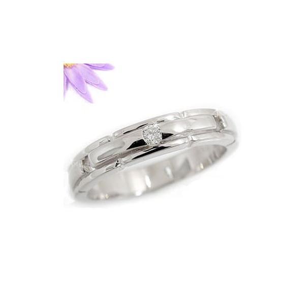 ピンキーリング ダイヤモンド リング 指輪 プラチナリング 一粒 ダイヤモンドリング ダイヤ ストレート クリスマス 女性