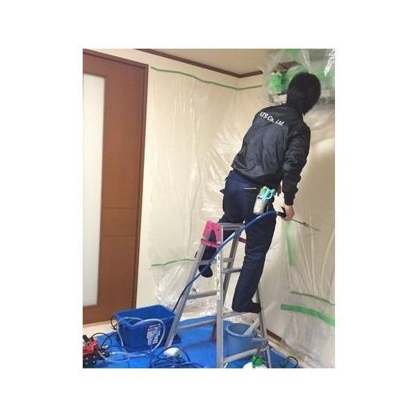 エアコン洗浄ポンプ エアコンクリーニング洗浄機に最適 丸山モーター動噴ポンプ エアコン洗浄用ノズルセット プロ用、業者様にもおすすめ致します。送料無料|ats-senzai|04