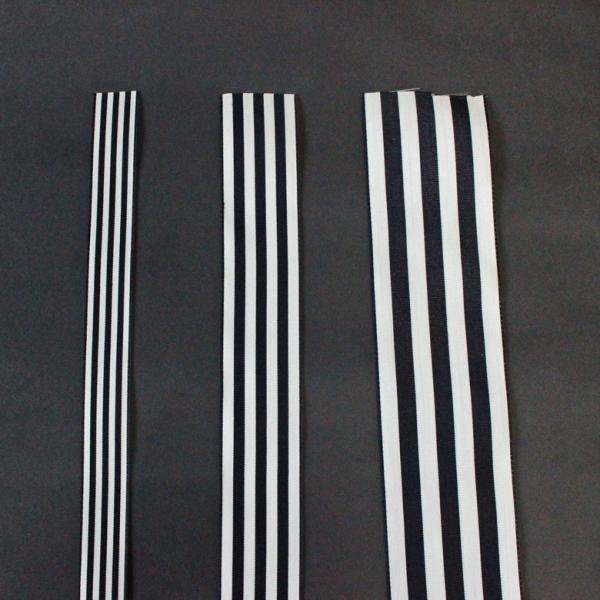 (B)3.8センチ幅 切り売り グログラン ストライプ リボン ギフト用 ラッピング リボン 普通郵便OK|atsumeru|03