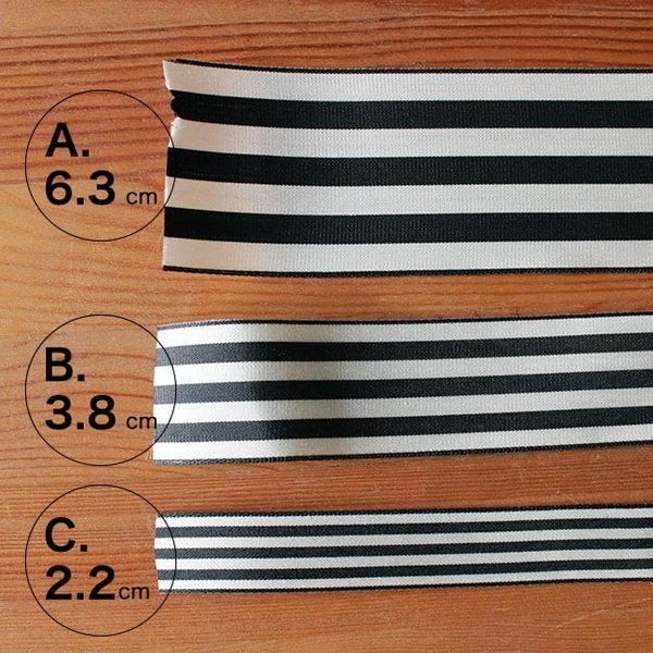 (A)6.3センチ 1本売り グログラン ストライプ リボン ギフト用 ラッピング 普通郵便OK|atsumeru|02