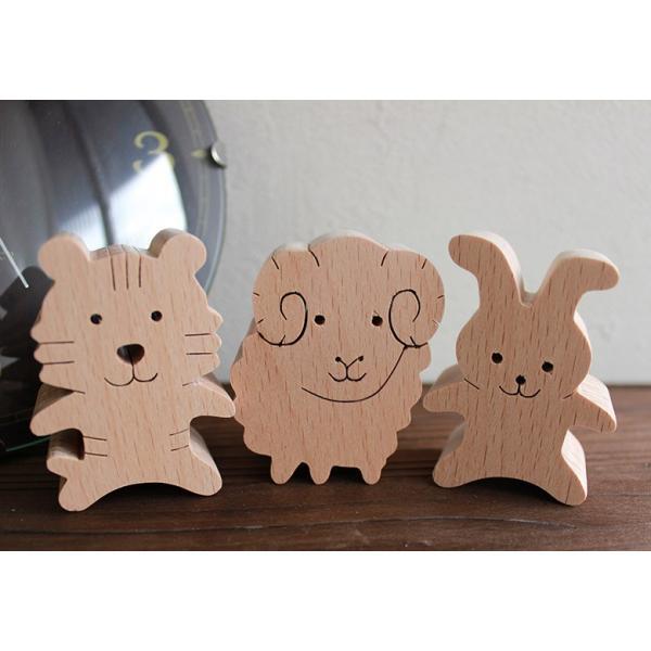 知育玩具 木のおもちゃ「干支おぼえ隊」誕生日ギフト 幼児 木製インテリア プレゼント 日本製 普通郵便OK|atsumeru|02