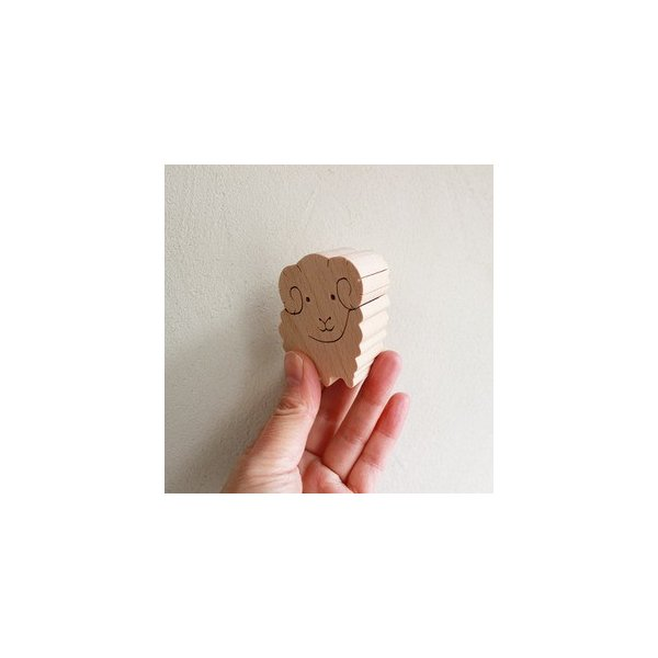 知育玩具 木のおもちゃ「干支おぼえ隊」誕生日ギフト 幼児 木製インテリア プレゼント 日本製 普通郵便OK|atsumeru|03