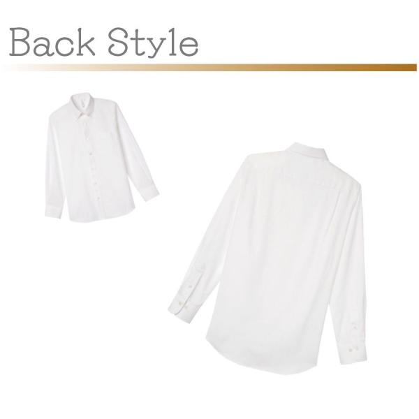 長袖オックスフォードシャツ メンズ 00807-LOM 全6色 S/M/L/2L/3L/4L/5L ボタンダウンYシャツ 無地 シンプル ユニフォーム|atta-v|03