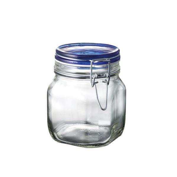 フィドブルー キャニスター 750ml SALUS(セイラス) 4521540239928 キッチン雑貨 ジャーサラダ 容器|atta-v