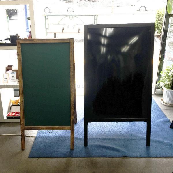 A型看板 (特大) ブラックボード 木製 両面 マーカー用 ABS-101B 立て看板 置き看板 店舗用|atta-v|05