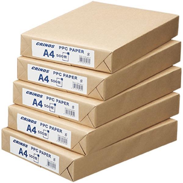 コピー用紙 A4 1箱2500枚入 日本クリノス PPCペーパー インクジェットプリンタ用紙 レーザープリンタ用紙|atta-v|02