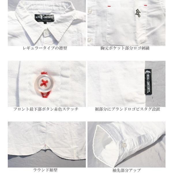 シャツ メンズ 綿麻 7分袖 カジュアルシャツ リネンシャツ リアルコンテンツ 白 ホワイト 紺 ネイビー M L XL XXL ストリート系 ファッション|attention-store|15