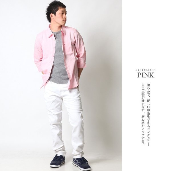 シャツ メンズ 綿麻 7分袖 カジュアルシャツ リネンシャツ リアルコンテンツ 白 ホワイト 紺 ネイビー M L XL XXL ストリート系 ファッション|attention-store|09