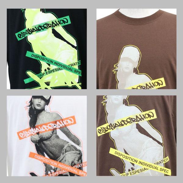 ロンT ストリート ブランド メンズ 長袖 Tシャツ プリント ASNADISPEC アスナディスペック ロゴ 大きいサイズ /3045/|attention-store|04