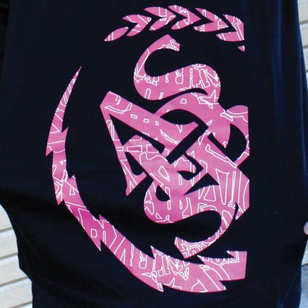 ロンT ストリート ブランド メンズ 長袖 Tシャツ プリント ASNADISPEC アスナディスペック ロゴ 大きいサイズ /3045/|attention-store|05