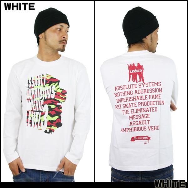ロンT ストリート ブランド メンズ 長袖 Tシャツ プリント ASNADISPEC アスナディスペック ロゴ 大きいサイズ /3045/|attention-store|02