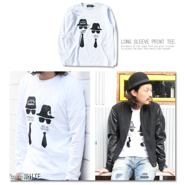 ロンT メンズ Tシャツ 長袖Tシャツ アスナディスペック ASNADISPEC ロンT祭りストリート系 ファッション /3045/|attention-store|05