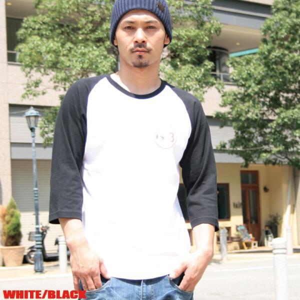 Tシャツ メンズ 7分袖 長袖 ロンT カジュアル ストリート系 ファッション BLACKTON ブラクトン /3045/|attention-store|05