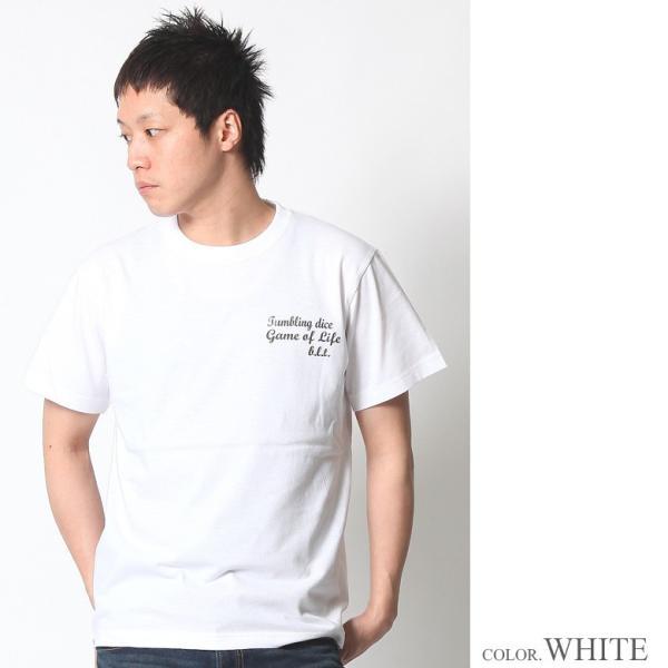 Tシャツ メンズ 半袖 アメカジ ワーク ストリート マリア 黒 白 大きいサイズ M L XL XXL 2L 3L プリント ロゴ カットソー ブランド BLACKTON ブラクトン|attention-store|05