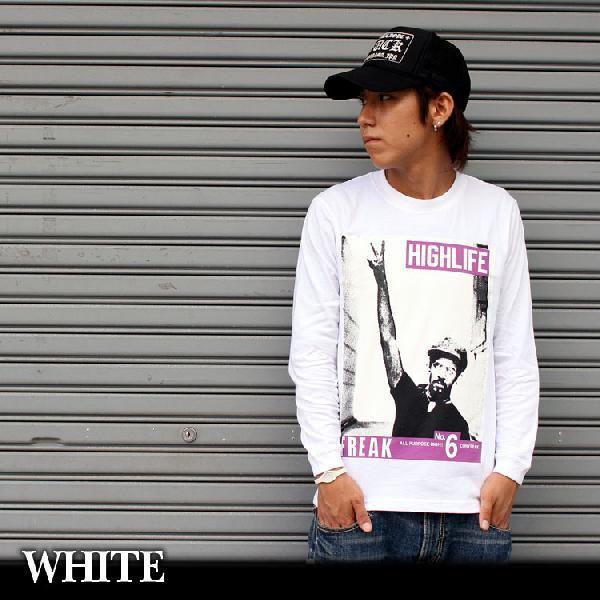 ロンT ストリート ブランド メンズ 長袖 Tシャツ プリント CONFUSE コンフューズ ロゴ 大きいサイズ /3045/ attention-store 04