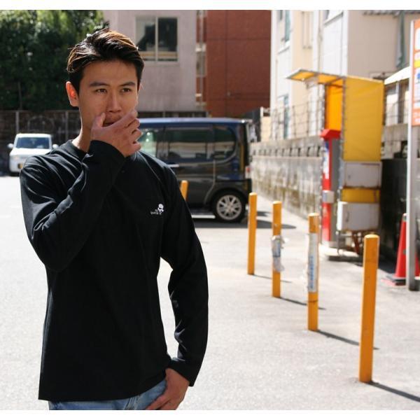 CONFUSE ロンT メンズ 長袖 ブランド コンフューズ 刺繍 ストリート アメカジ スカル 黒 白 大きいサイズ XL XXL ロゴ /3045/|attention-store|11