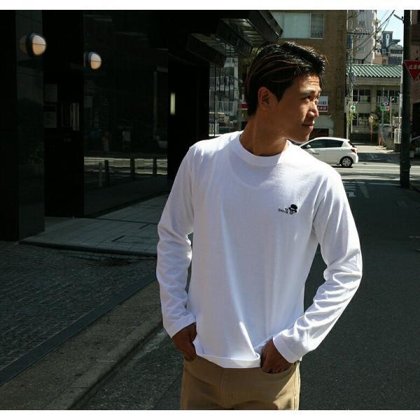 CONFUSE ロンT メンズ 長袖 ブランド コンフューズ 刺繍 ストリート アメカジ スカル 黒 白 大きいサイズ XL XXL ロゴ /3045/|attention-store|09