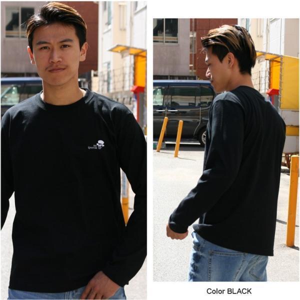 CONFUSE ロンT メンズ 長袖 ブランド コンフューズ 刺繍 ストリート アメカジ スカル 黒 白 大きいサイズ XL XXL ロゴ /3045/|attention-store|10
