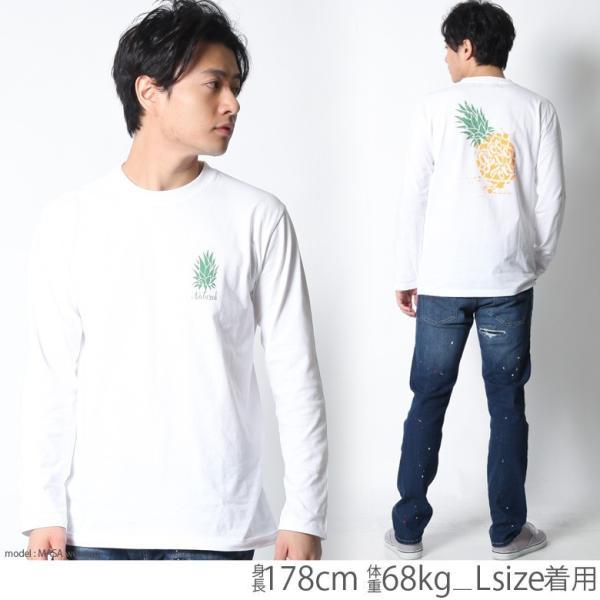 ロンT メンズ 半袖 ティーシャツ TEE グルーブオン GROOVEON XL XXL 2XL 3L 黒 ブラック 白 ホワイト プリント  /3045/ attention-store 08