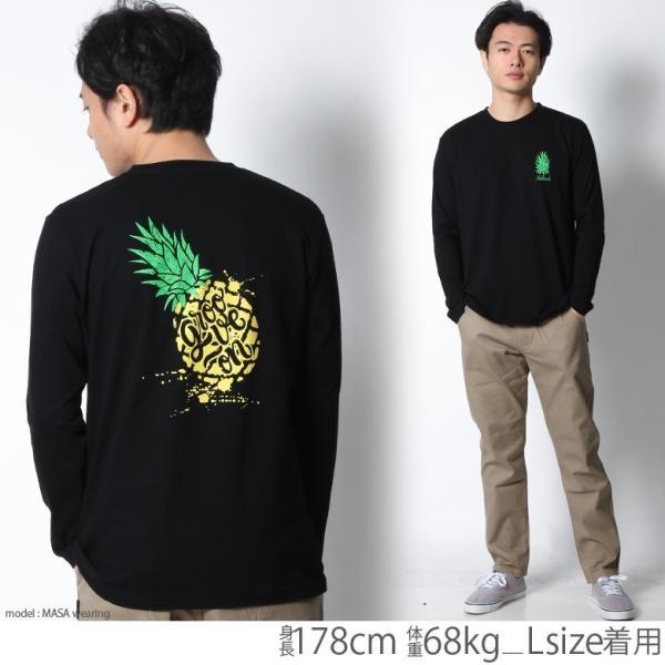 ロンT メンズ 半袖 ティーシャツ TEE グルーブオン GROOVEON XL XXL 2XL 3L 黒 ブラック 白 ホワイト プリント  /3045/ attention-store 10