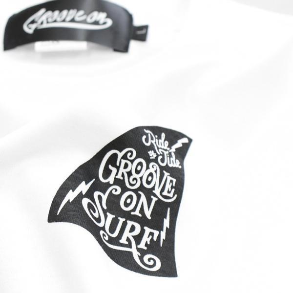 ロンT メンズ 半袖 ティーシャツ TEE グルーブオン GROOVEON XL XXL 2XL 3L 黒 白 ブランド 人気 アメカジ ストリート系 サーフ系 /3045/ golt4606 attention-store 12